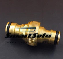 Free shipping 3pcs/pack Brass Tap Adaptor Garden Brass Hose Connector Adapter Fittings Nozzle HJ3157A