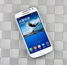 Free DHL-EMS Shipping / Original android phone Samsung galaxy S4 mini I9195 mobile phone Unlocked 4.3 inch 1.5G RAM 8MP camera(Hong Kong)