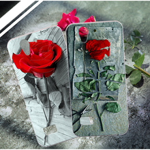 For OPPO Find Mirror R819 819T Soft Silicone Case Luxury 3D Relief Rose Flower Skin Phone Cover For OPPO JOY 3 A11W Case