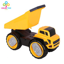 Children Inertia Car Dump Truck Engineers Vehicle Toy for Kids(China)