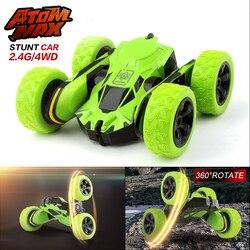 GizmoVine HB 1/28 RC Stunt Car 2,4 ГГц RC автомобиль дистанционного Управление, off Road Электрический Race Двусторонняя 360 rc автомобиль игрушки для детей