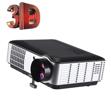 1280x1800 Native 3500 Lumen Home Theater HDMI USB LCD Panel LED Projector Support Red and Blue 3D