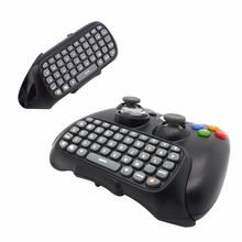 MOCUTE Text Messenger Keyboard Wireless Controller Chatpad Keypad for Xbox 360 Game Controller Black With retail packaging(China)