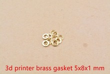 3d printer openbuilds anti lock gasket 5x8x1 mm brass gasket flat pad 10pcs