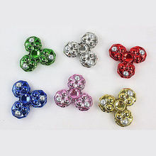 Hot Hand Spinner Finger Fidget 3D With LED Light Rotation 360 For EDC ADHD Autism Anti Stress Toys Party Favor