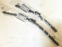 "Free shipping Wiper blades for Chevrolet Trailblazer (from 2013 onwards) 22""+18"" fit top lock type blades is boneless wiper(China)"