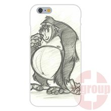 Soft TPU Silicon Cell Phone Case Cover Funny animal cartoon gorilla For Xiaomi Redmi Mi 3 3S 4 5S Pro