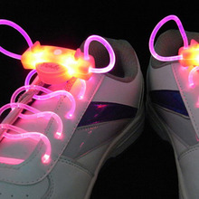 1 Pair LED Sport Shoe Laces Flash Light Glow Stick Strap Shoelaces Blue Pink Green Yellow Worldwide sale