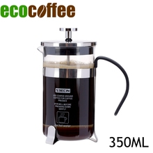New Arrival Eco Coffee Accessories Free Shipping 350ml Coffee French Press coffee Plunger Espresso Coffee Maker