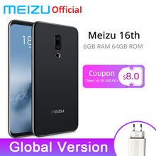 Официальная глобальная версия Meizu 16th 16 th 6 GB 64 GB Snapdragon 845 Octa Core 6,0 ''2160x1080 P Передняя 20.0MP In-screen Fingerprint(China)