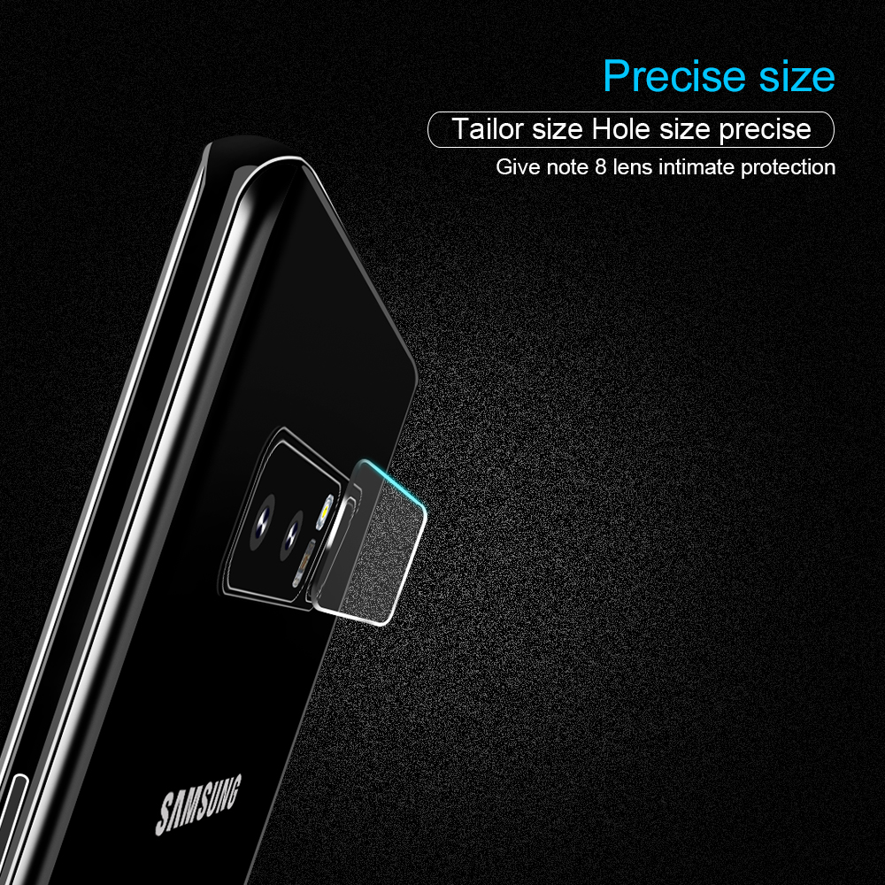 Phone Camera Len Film For Samsung Galaxy Note 8 S8 S8 Plus S7 Edge Tempered Glass 2.5D Screen protector Camera protection film (10)