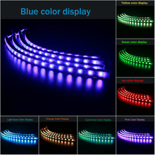 Four in One Atmosphere Lights Ambient Lighting super bright RGB Indoor Chassis Lights auto Car 16 Colors LED Light