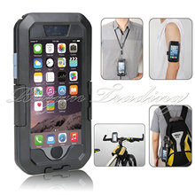 Motorcycle Bike Sports Handle Bar Mount Holder For iPhone 5/6s/6s Plus Superior IPX8 Waterproof Case For iPhone 5 6s 6plus Cover(China)