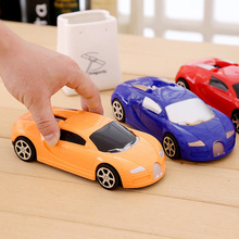 Mini sport car model plastic diecasts vehicle pull back car toys for baby gift inertia classic vintage simulation car game kids