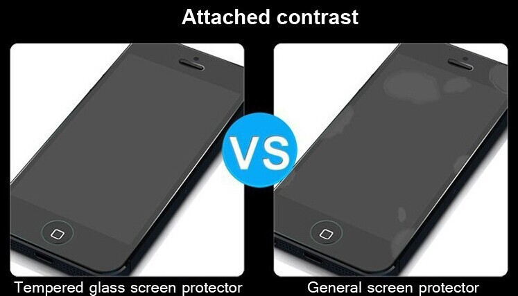 0.2mm Ultrathin Mobile Phone Tempered Glass Screen Protector for iphone 5S 5C 5,Toughened Glass Screen Protecter for iPhone 5