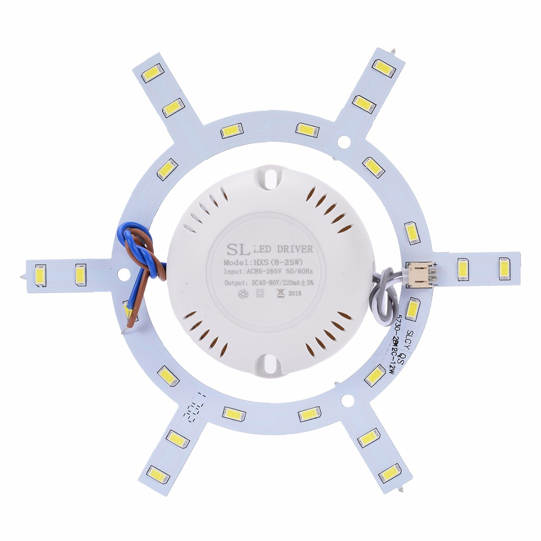 8-18W LED Panel Ceiling Light Board with Driver 5730 LED Lamp Board Lighting Accessories