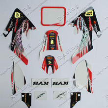 3M RACING MOTORCYCLE sticker graphics kit decals HONDA MOTO DIRT PIT BIKE PARTS XR CRF50 50 - Racing store
