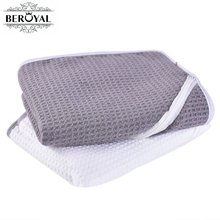 Beroyal Brand High Quality Gym Towel -1pc 28*110cm Cotton Towel with Zipper and Pocket  Absorbent Sport Towel Soft Hand Towels