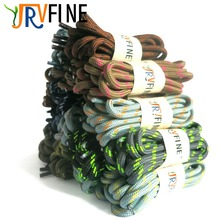YJRVFINE 1 Pair Super Strong Brand Non Slip Wear-resistant Round Shoelaces Polka Dot Outdoor Sports Climbing Shoe Lace Strings(China)