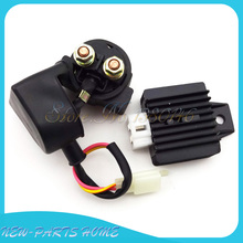 Regulator Rectifier Solenoid Relay For Chinese 50cc 110cc 125cc Lifan Loncin ATV Quad