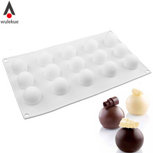 1PCS Non-Stick Silicone Round Ball Shaped Mini Truffles Mold For Chocolate Mould Baking Truffle Dessert Cake Decorating Tools(China)