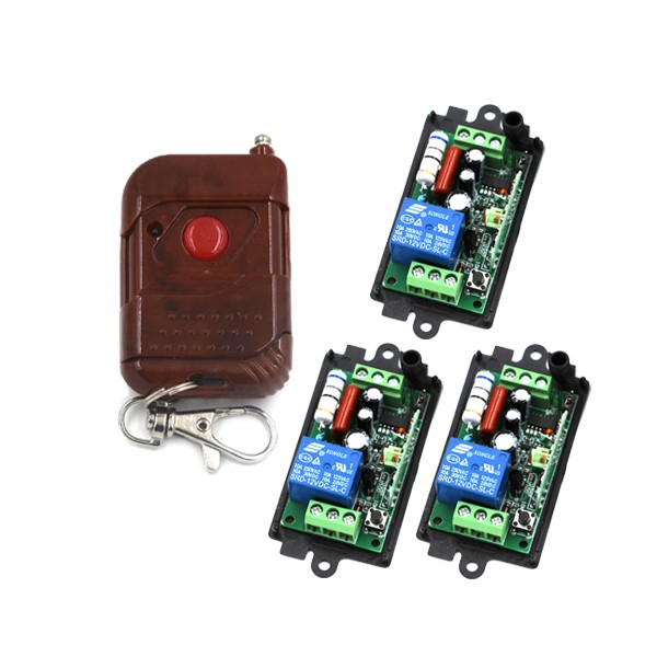 1CH Wireless Remote Control Switch AC 110V 220V Remote Switch System 315Mhz / 433 Mhz Transmitter &amp; Receivers SKU: 5198<br><br>Aliexpress