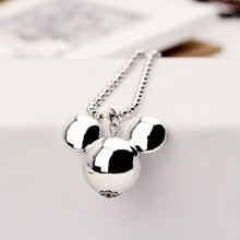 Buy Luxury Mickey necklace female wild long section decorative accessories Short spring fine jewelry clavicle chain sweater chain for $1.02 in AliExpress store