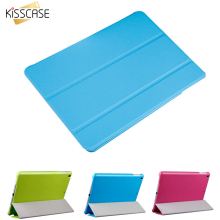 KISSCASE Luxury Slim Leather Flip Case for ipad  mini2 mini3 Smart Tablets Accessories Cover Stand Retro For iPad Mini 1 2 3