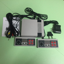 Retro Classic Game Player Family TV Video Game Consoles Childhood Built-in 600 Double handle control Pal Ntsc