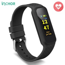 INCHOR WRISTFIT HR2 Smart Bracelet OLED Bluetooth 4.0 Heart Rate Monitor Smart Wristband Fitness Tracker For Andriod IOS Phone(China)