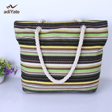ADIYATE Bolsa De Playa Grande Sac Plage Big Sacs Tote Bag Canvas Grande FemmesNew Femme De Fashion Neceser Exempt Postage Cheap