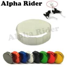 "Motorcycle CNC Brake Fluid Reservoir Cap for Aprilia RSV4 FACTORY RSV MILLE R Ducati Monster 696 796 996 50MM 2"" Master Cylinder"