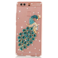 Luxury Rhinestones cover case For Huawei mate 8 mate S P9 P8 Lite P7 P6 Honor 7i 6 Plus 5X 5C 4X 4C V8 diamond phone cases shell(China)