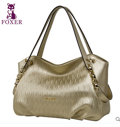 FOXER brand Luxury  leather handbags new fashion trend handbag ladies bag women leather handbags shoulder bag<br><br>Aliexpress