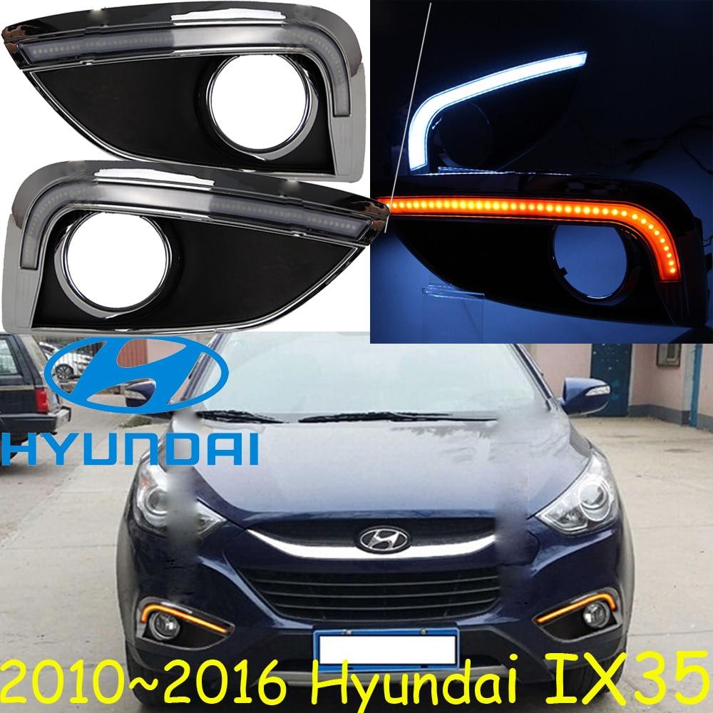 Car-styling,IX35 daytime light,2010~2016,chrome,LED,Free ship!2pcs,car-detector,IX35 fog light,car-covers,Tucson,IX 35<br><br>Aliexpress