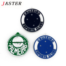JASTER Creative Cruzeiro Club LOGO Football USB Flash Drive 8GB 16GB Brazilian soccer club team logo Cartoon Pen Drive
