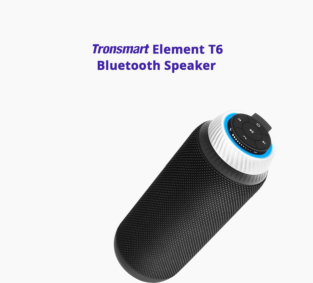 NEW TRONSMART ELEMENT T6 BLUETOOTH PORTABLE SPEAKER WIRELESS SOUNDBAR RECEIVER MINI SPEAKERS 1