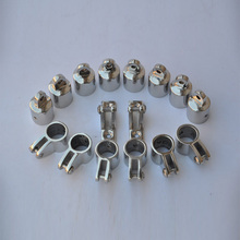 "4-Bow 1"" Bimini Top Boat Stainless Steel Fittings Marine Hardware Set - 16 piece(China)"