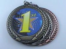 low price Custom sport medal hot sales 1st 2nd 3rd Place Medal Trophy First Second Third High quality metal medal  FH810183