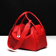New 2016 Top-selling Drug Shoulder Bag Litchi Grain Handbag Women Bags Cute Lady Funky Red Black Grey Orange Pink Blue Green(China)