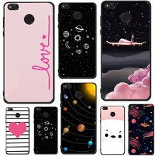 Case For Xiaomi Redmi 5A Note 4 A1 Universe Pink Rabbit White Bear For Xiaomi Redmi 4A 4X 5A Note 4 A1