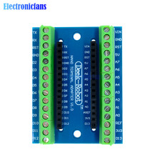 1Pcs Standard Terminal Adapter Board for Arduino Nano V3.0 AVR ATMEGA328P ATMEGA328P-AU Module 100% Origin(China)