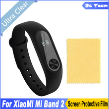 Buy 2pcs/lot HD Clear Front Screen Protector Display Protective Guard Film Xiaomi Mi Band 2 Band2 Smart Wristband Bracelet for $1.28 in AliExpress store