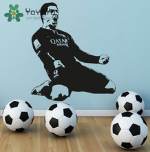 Luis Suarez FC Barcelona Vinyl Wall Decal Art Home Decor Sticker barcelona Soccer Football decal Sports Boys Room Poster NY-76(China)