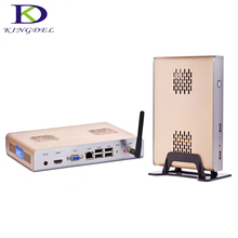 New Arrival Thin client Industrial mini Desktop Intel Celeron 1037U Dual Core 1.8Ghz HDMI 1080P Video Bareboen max 8GB RAM Wifi