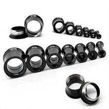 Hypoallergenic inner spiral silver titanium steel manufacturers EAR opener expansion PLUG  tunnels body piercing jewelry