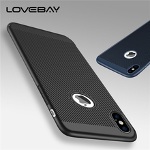 Buy Lovebay Phone Case Apple iPhone X 10 Fashion Honeycomb Hollow Cooling Design Hard PC iPhone X Phone Case Back Cover Bags for $1.36 in AliExpress store