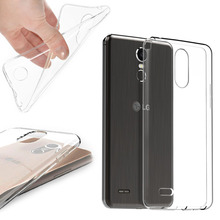 For LG X Mach Fast K600 /X Cam /X Power /G6 /Stylus 3 2 crystal case TPU silicone transparent protective back cover rubber bag