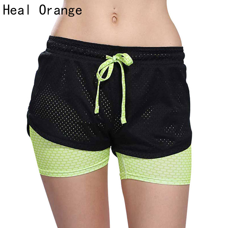 Womens Running Shorts 2 In 1 Running Tights Short Women s Gym Cool Woman Sport Short