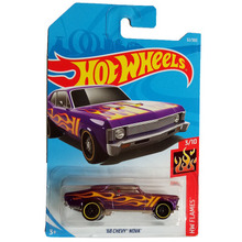 New Arrivals 2018 8b Hot Wheels 1:64 68 chevy nova Car Models Collection Kids Toys Vehicle For Children(China)